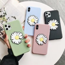 Fashion Daisy Flower Soft Case For Xiaomi Mi Note 10 9T CC9 Pro CC9e Play 8 9SE A2 A3 Lite 5X 6X Pocophone F1 Cover 9