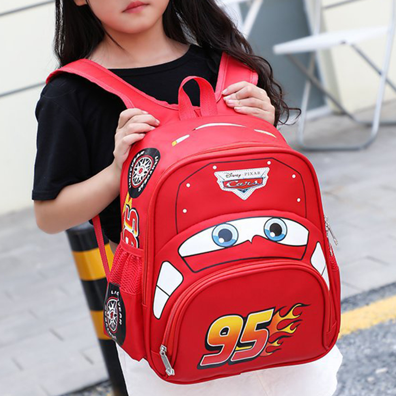 2019 Cartoon Car Backpack Children School Bags Kids Book Bag Baby Toddler Kindergarten Boys Girls Backpacking Rucksack Escolar