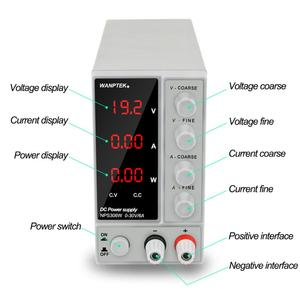 Image 2 - 30v 10a 6a Switching Power Supply Adjustable Laboratory Power Supply Voltage Stabilizer Power Control 220 v Current Stabilizer