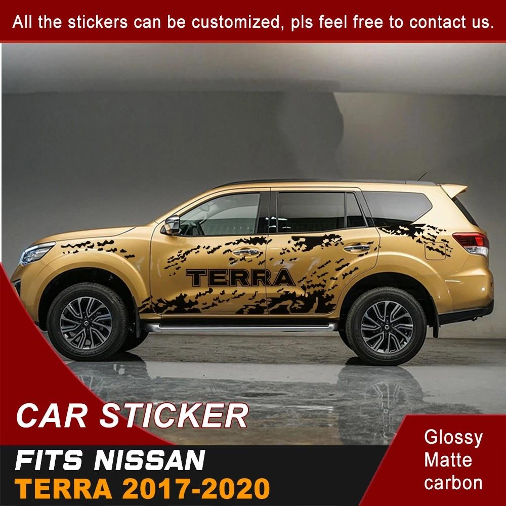 Stiker Mobil Sisi Tubuh Percikan Lumpur Grafis Vinyl Mobil Keren Stiker Kustom Suv Cocok Untuk Nissan Terra 2017 2018 2019 2020 Mobil Stiker Aliexpress
