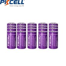 20PC x 34615 ER34615 3.6V 리튬 배터리 mah D 크기 LiSOCl2 지능형 수량계 PKCELL 용 비 충전식 배터리