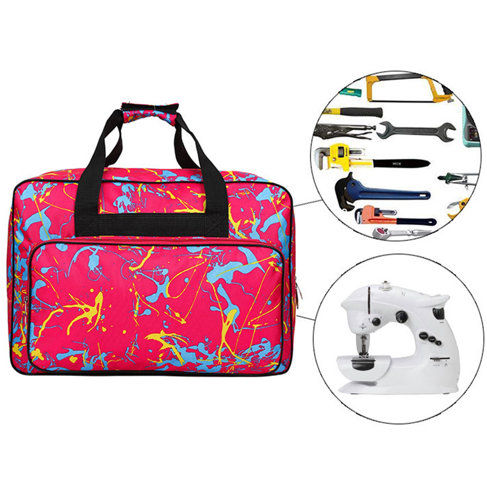 2 Pcs Large Capacity Sewing Machine Bag Travel Portable Storage Bag Sewing Machine Bags Multifunctional Sewing Tools Hand Bags