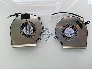 Novo original para MSI GE72 GE62 PE60 PE70 GL62 GL72 PAAD06015SL N317 N318 N302 N303 notebook laptop GPU CPU ventilador de refrigeração mais fresco