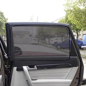 Image 3 - VODOOL Magnetic Car Window Sunshade Cover Curtain UV Protection Auto Side Windows Sun Visor Shield Mesh Sun Shade Protector Film
