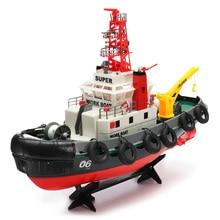 Henglong 3810 63 см 2,4G дистанционное управление Управление RC гребная лодка с водяным охлаждением Системы игрушка в подарок RC лодка на скоростном катере водная игрушка на открытом воздухе