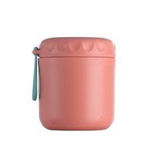 500ml izolowany kubek na zupę ze stali nierdzewnej przenośny szczelny pojemnik na żywność termiczny Jar próżniowy izolowany zupa termos pojemniki z liną tanie tanio CF-141 STAINLESS STEEL Ekologiczne Zaopatrzony PORTABLE WOMEN Normalne Termosy próżniowe termosy i rope 0-6 godzin