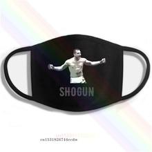 Mauricio shogun rua logotipo impressão lavável respirável reutilizável algodão boca máscara