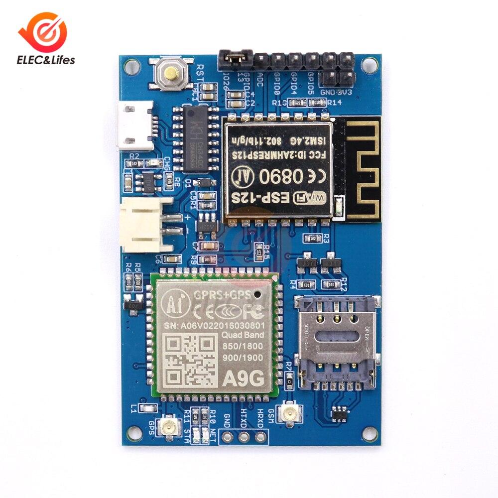 de Desenvolvimento IOT Wi-fi + Celular + GPS 850 900 1800 1900MHz