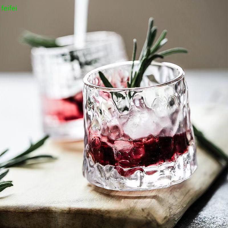 Blossom French Spin Wine Glass Rotate Not Fall Whiskey Glasses Top Whisky XO Chivas Rock Cup Restaurant Desserts Tumbler