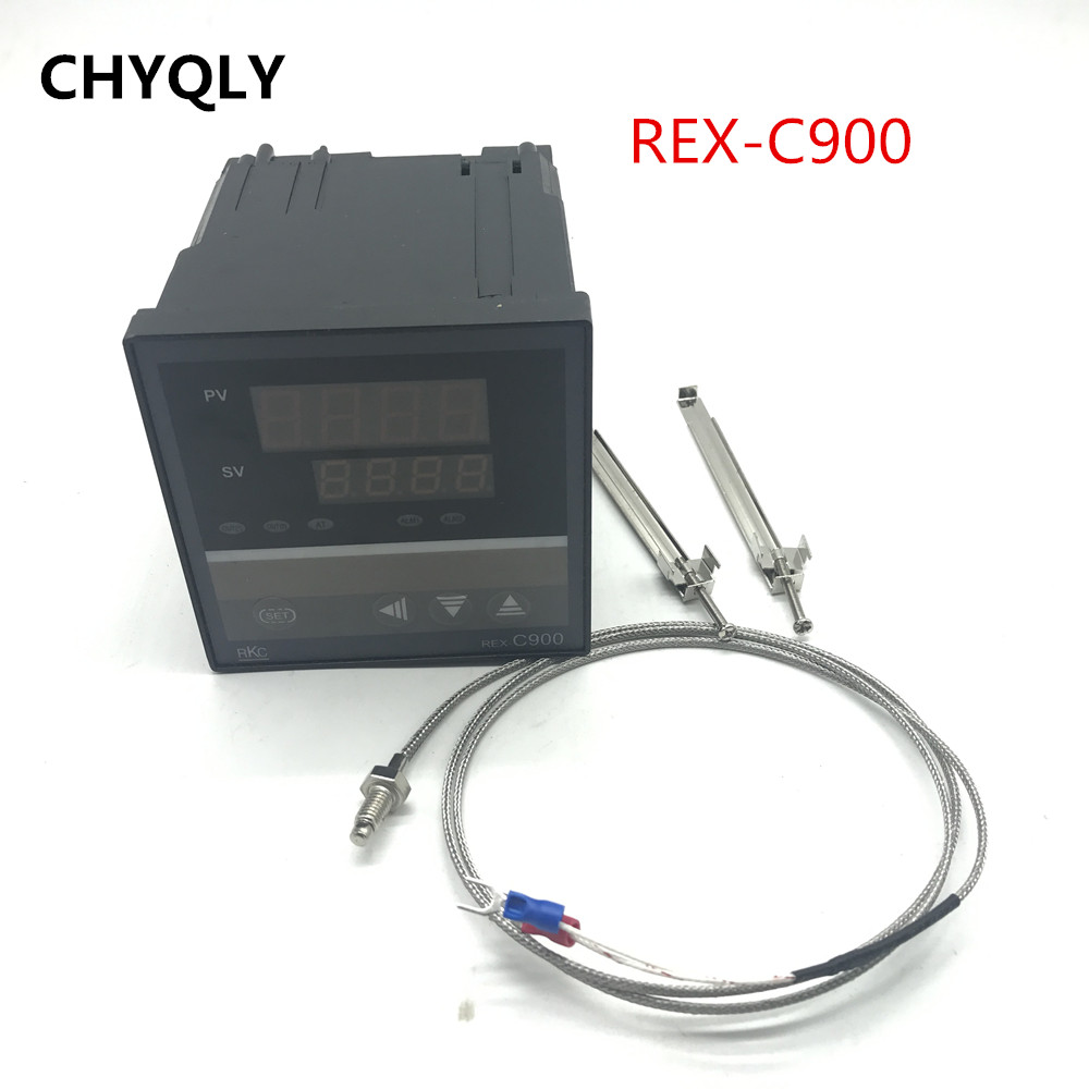 96*96mm <font><b>PID</b></font> Temperature Controller <font><b>REX</b></font>-<font><b>C900</b></font> Universal Input Multi-input SSR Relay Output Thermostat Regular M*AN V*AN image
