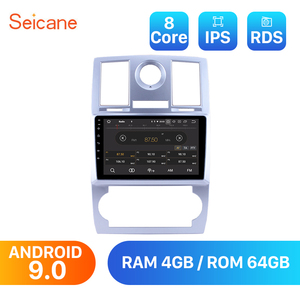 Seicane Android 9.0 HD 1024*600 9 inch Auto Radio For 2004 2005 2006 2007 2008 Chrysler Aspen 300C Car GPS Navigation System(China)