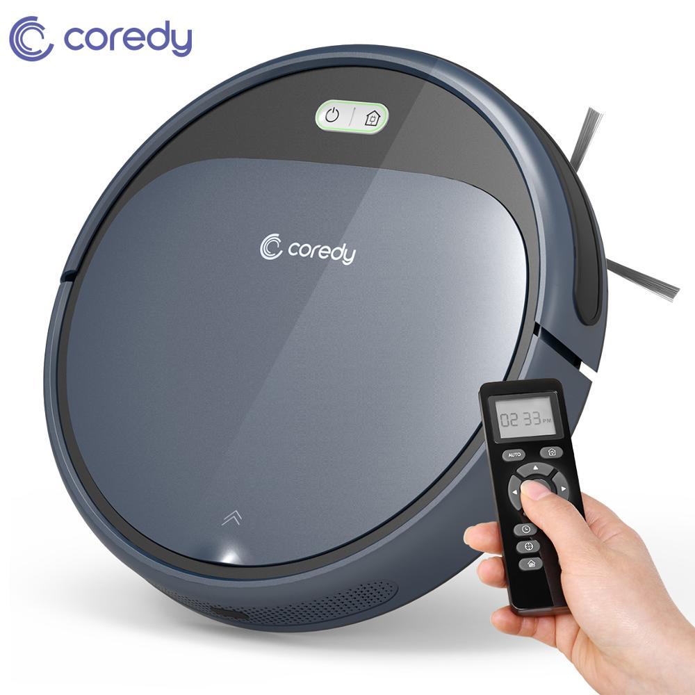 Coredy r300 1400 pa casa inteligente robô limpo automático aspirador de pó sem fio chão limpeza do tapete