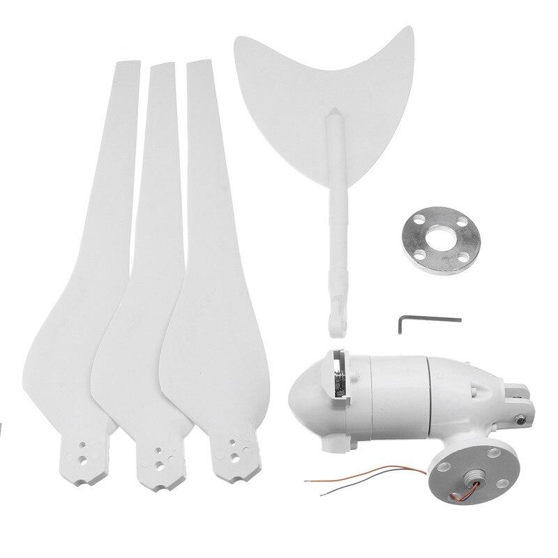 300 Вт ветряной генератор ac12в/24 В ветряные турбины генератор с 3 лопастями из нейлонового волокна для дома солнечный уличный фонарь, лодка