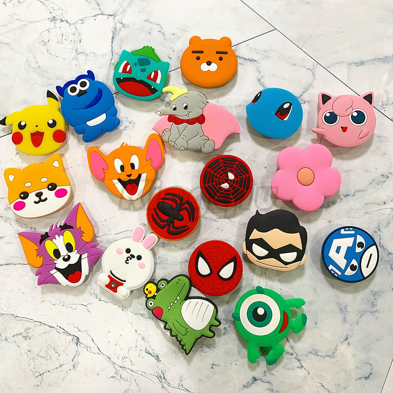 Cute Phone Socket Universal Cat Claw Mobile Phone Stretch Bracket Cartoon Air Bag Phone Expanding Phone Stand Finger Car Holder