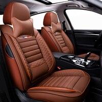 High PU Leather car seat covers 5 seats For Skoda rapid spaceback superb 2 3 2016 2017 yeti