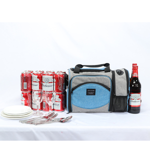 Image 5 - DENUONISS New 2020 Waterproof Picnic Bag Insulated Portable Fabric Thermal Cooler Bag Large Volume Storage Male Beer Wine Bag