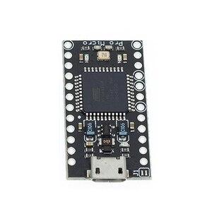 Image 5 - 10ชิ้น/ล็อตกับBootloaderสีดำPro Micro ATmega32U4 5V/16MHzโมดูลController Mega32U4 Mini Leonardoสำหรับarduino