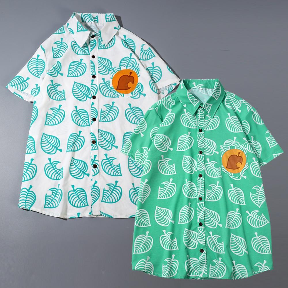 Animal Crossing T Shirt Tom Nook Cosplay Shirt Costume Men Women Short Sleeve Tops