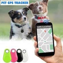 Smart Hund Haustier GPS Tracker Anti-verloren Alarm Tag Drahtlose Bluetooth Tracker Kind Tasche Brieftasche Schlüssel Katze Finder Locator anti Verloren Alarm