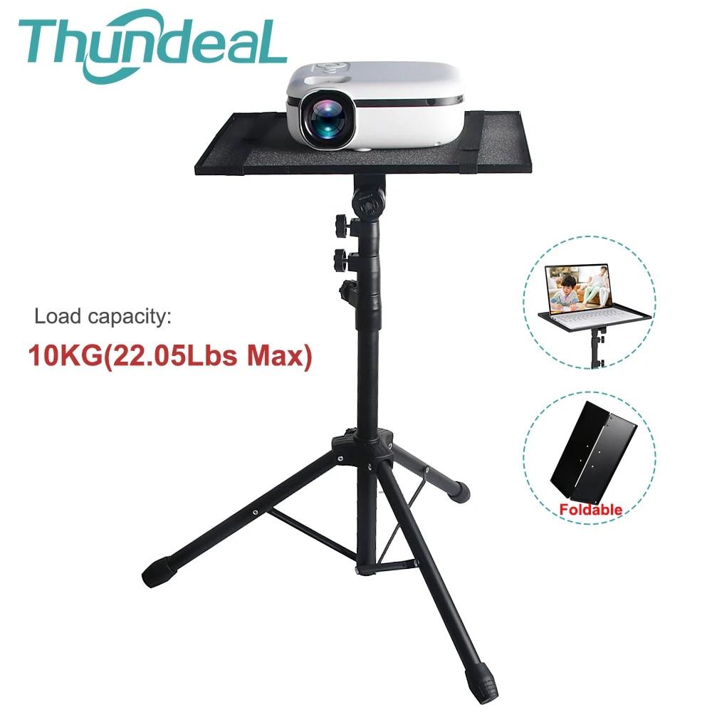 Fit 200KG TD200 C200 C20 Q20 Projector Tripod Adjustable Floor Stand Portable  Projector Stand Tripod Tray Outdoor Laptop Holder Mount