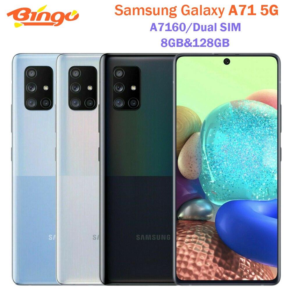 Samsung Galaxy A71 5G A7160 Dual Sim 8 Гб оперативной памяти 128 ГБ ROM 6,7