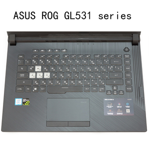 Чехол из ТПУ с прозрачной клавиатурой для ASUS ROG Strix G Hero Iii Scar 3 GL531 GL531GV G531Gt G531G Gu Gd 15,6 дюймов