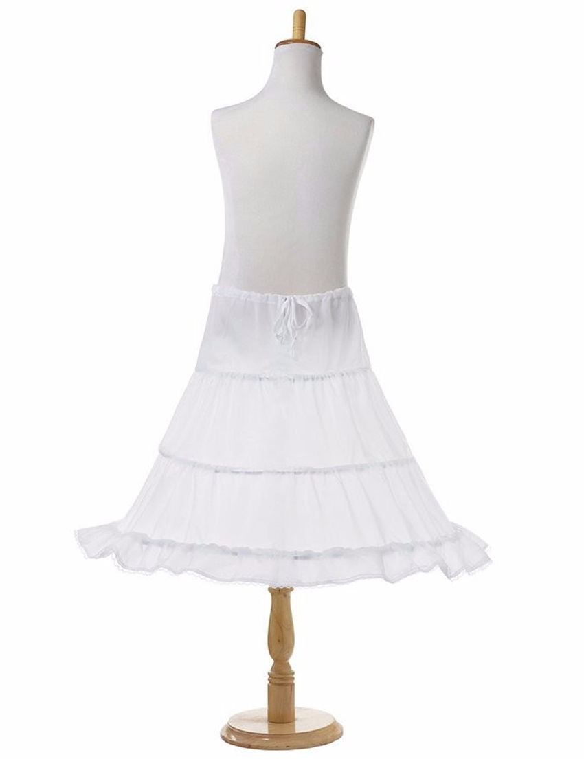 NUOXIFANG 2020 Short Petticoat Girl Kids Mini Tutu 1 Layer Petticoat Crinoline Underskirt Wedding Accessories
