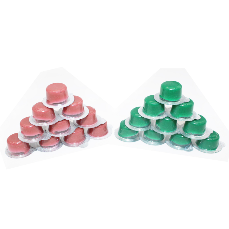 20pcs Tooth Polishing Paste Dental Teeth Whitening Polisher Whitener Mint And Cotton Candy Flavors White Smile Teeth Whitening