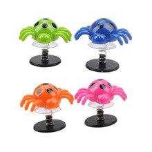 20 шт. прыгающий паук красочный прыгающий паук анти-стресс игрушки, принадлежности для вечеринок подарки Детские забавные игрушки прыгающие пауки пьедестал игрушка