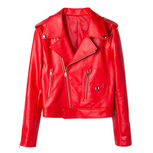 Fashion Genuine Leather Jacket Women Autumn Female Short Sheepskin Leather Coat New Ladies Natural Real Lambskin Leather Jacket