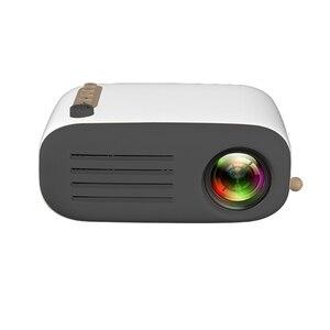 Image 5 - الرجعية نمط العارض البسيطة جهاز عرض (بروجكتور) ليد جهاز عرض مسرحي منزلي لعبة متعاطي المخدرات مشغل فيديو Sd سماعات USB 320*240 قرار