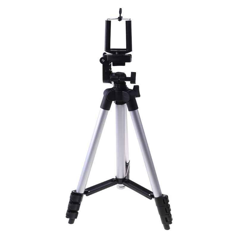 Ücretsiz kargo profesyonel kamera Tripod standı tutucu dağı iPhone Samsung cep telefonu + çanta