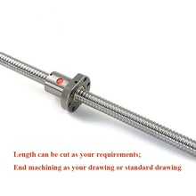 ball screw assembly SFU2505 L1300/1350mm with BK20BF20 end machining + SFU2505 nut for ball screw CNC 2pcs lot ball screw sfu2505 set 2pc ballscrew sfu2505 l500mm without end machined 2pc sfu2505 ball nut