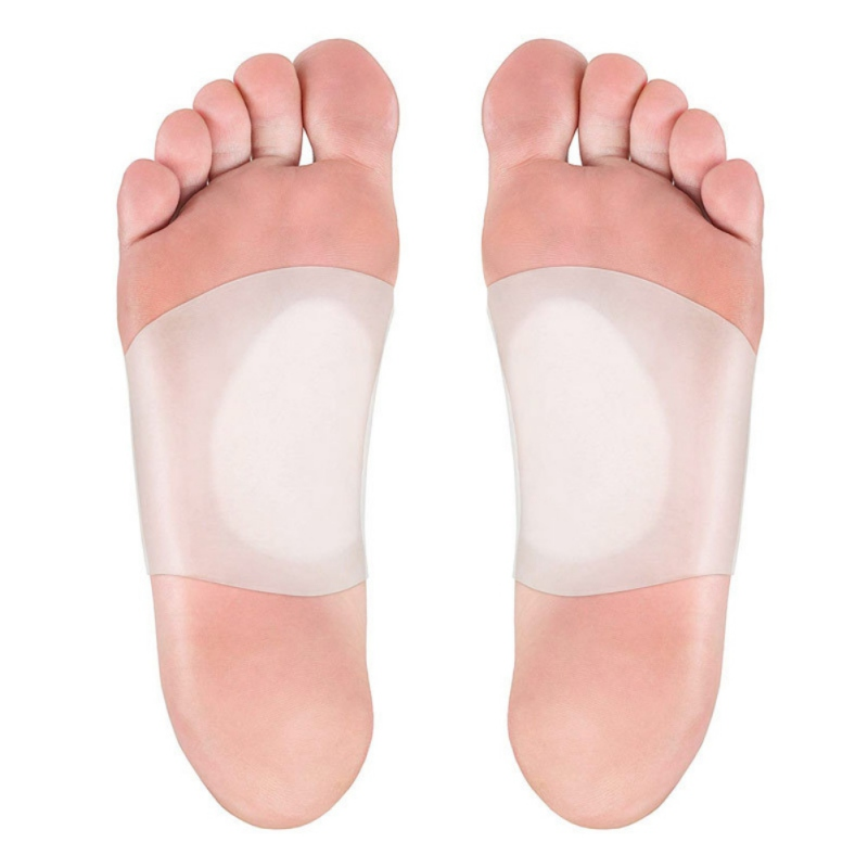 Foot Heel Pain Relief Plantar Fasciitis Insole Pads Arch Support Shoes Insert CN