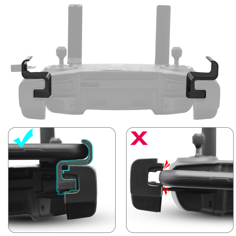 Easy Mount Clip Clamp Phone Holder Connector For DJI Mavic Mini Mavic 2 Pro Zoom Spark Air Platinum Controller Drone Accessory
