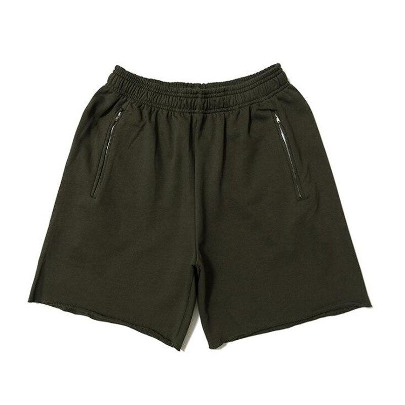 2019 New Summer Style Season 6 Shorts Kanye West Calabasas 100% Cotton Hip Hop Streetwear Season6 Shorts Zip Pocket Six