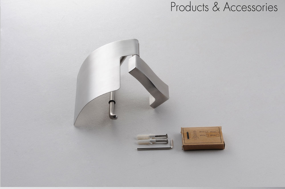 H71b6d573376d425e92a3ee4d538cd155M - Tutima Brushed Toilet Paper Holder Toilet Roll Holder Wall Mounted Bathroom Paper Holder Bathroom Accessories Paper Shelf