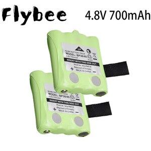 4.8V 700MAH NI-MH Rechargeable Battery For Uniden BP-38 BP-40 BT-1013 BT-537 GMR FRS 2Way Radio batteries model 4.8 V 700 mah