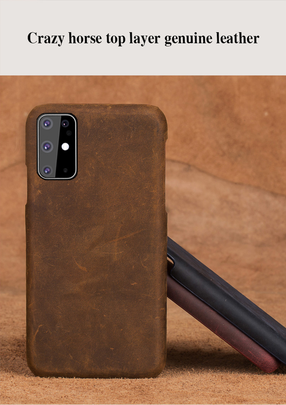 Galaxy S20 Leather Wallet Case