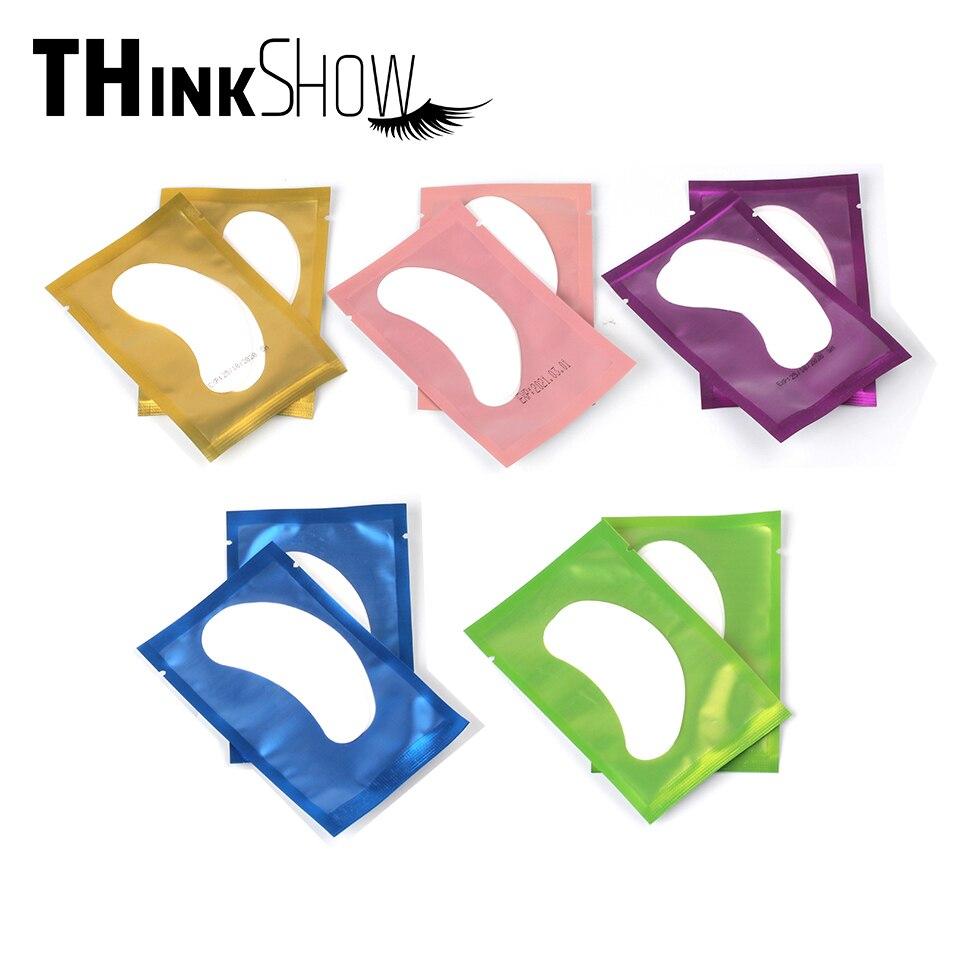 30/50/100/200 unids/lote extensión de pestañas parches ojos almohadillas para la extensión de pestañas apoyo Dropshipping. Exclusivo.