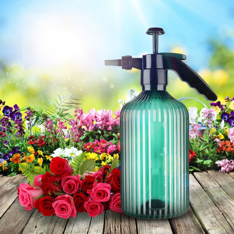 Portable Garden Watering Cans Large-capacity Plant Irrigation Spray Can High-pressure Nozzle Flower Waterer Bottle Leak-proof