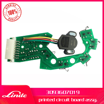 Linde forklift genuine part 3093607019 printed circuit board used on 131 pallet truck T20 T30 and 372 pallet stacker L14 L16
