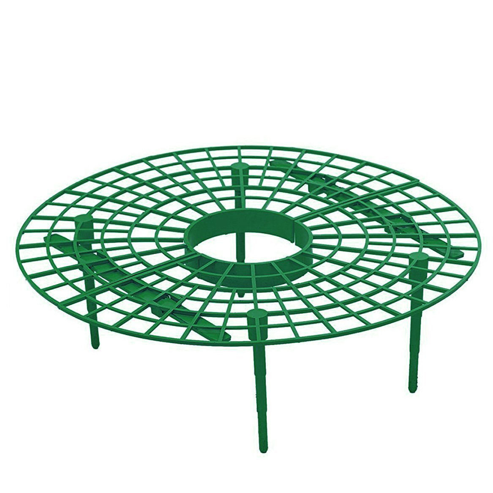 5pcs Lightweight Support Rack Plant Tool Improve Harvest Frame Farming Circle Plastic Strawberry Growing Removable Easy Install