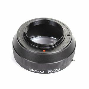 Image 2 - Anel Adaptador FOTGA Lens Para Contax/Yashica CY Lens para Micro 4/3 m4/Adaptador para E P1 3 G1 GF1 latão atacado oem