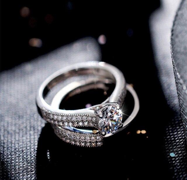 Bague de fiançailles femme diamant