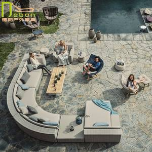 Chairs Back-Pillow Dinner-Table Outdoor And for Alfresco Dining/Seat-Cushion Included