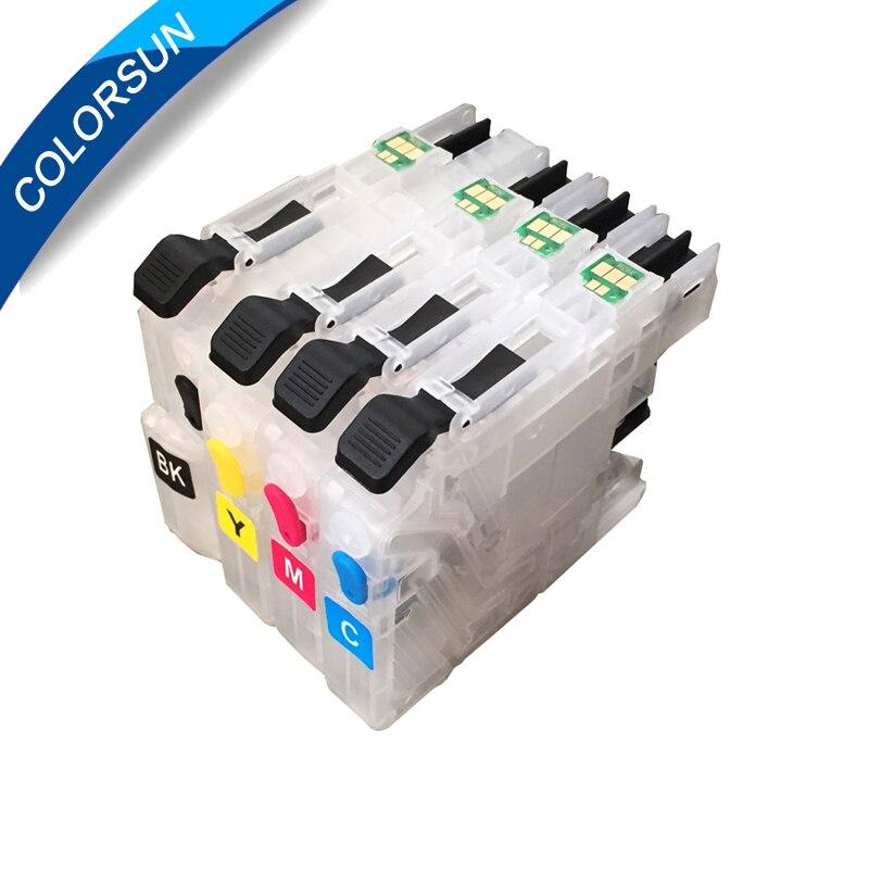 Короткие многоразовые картриджи LC231 LC233, 4 шт., для смартфонов/J4120/J4620/J5320