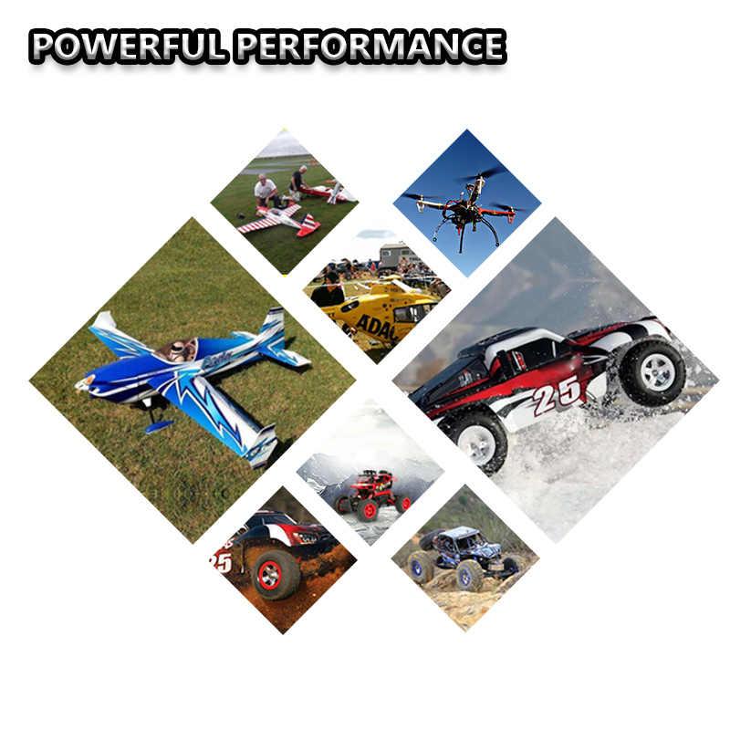 Meme Lipo 2S 7,4 V 3S 11,1 mAh 4000 V 60C 4S 14,8 V 6 22,2 V batería XT60 T TRX 18,5 V 5S para piezas RC helicóptero cuadricóptero de coche