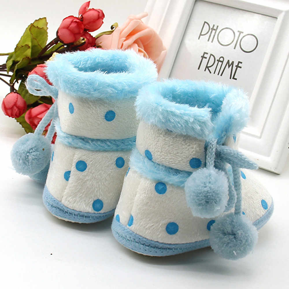 Huang Neeky #P501 Baby Girls Boys Soft Booties Snow Boots Infant Toddler Newborn Warming Shoes Hot First Walkers Drop Shipping