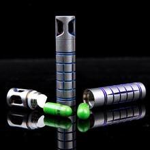 Titan Dichtungen Flasche Schlüssel Zubehör Multi-Funktion Flasche Titan Legierung Tasche EDC Multi Werkzeuge